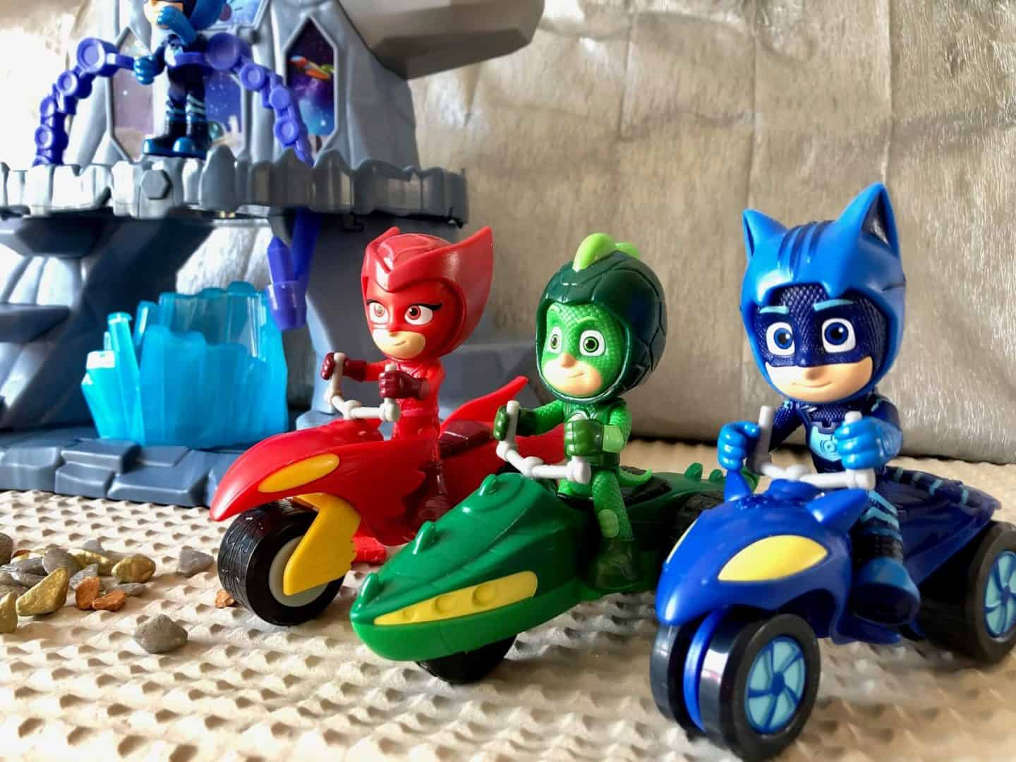 PJ Masks With Moon Rovers