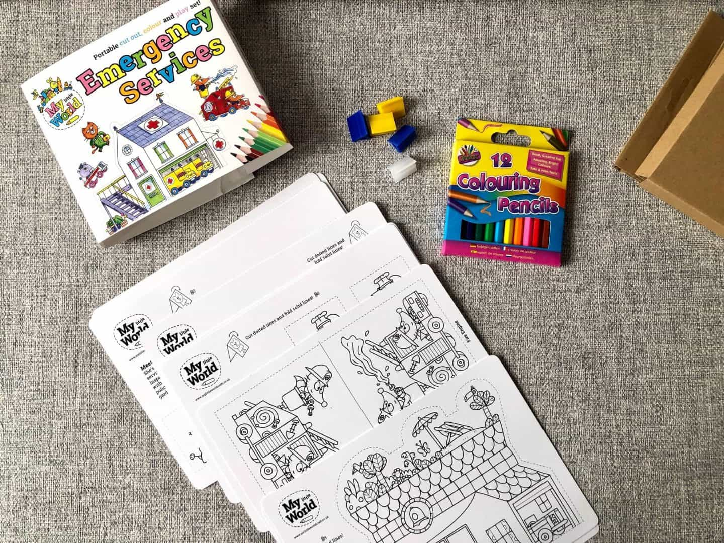 What are My Little World Activity Packs?