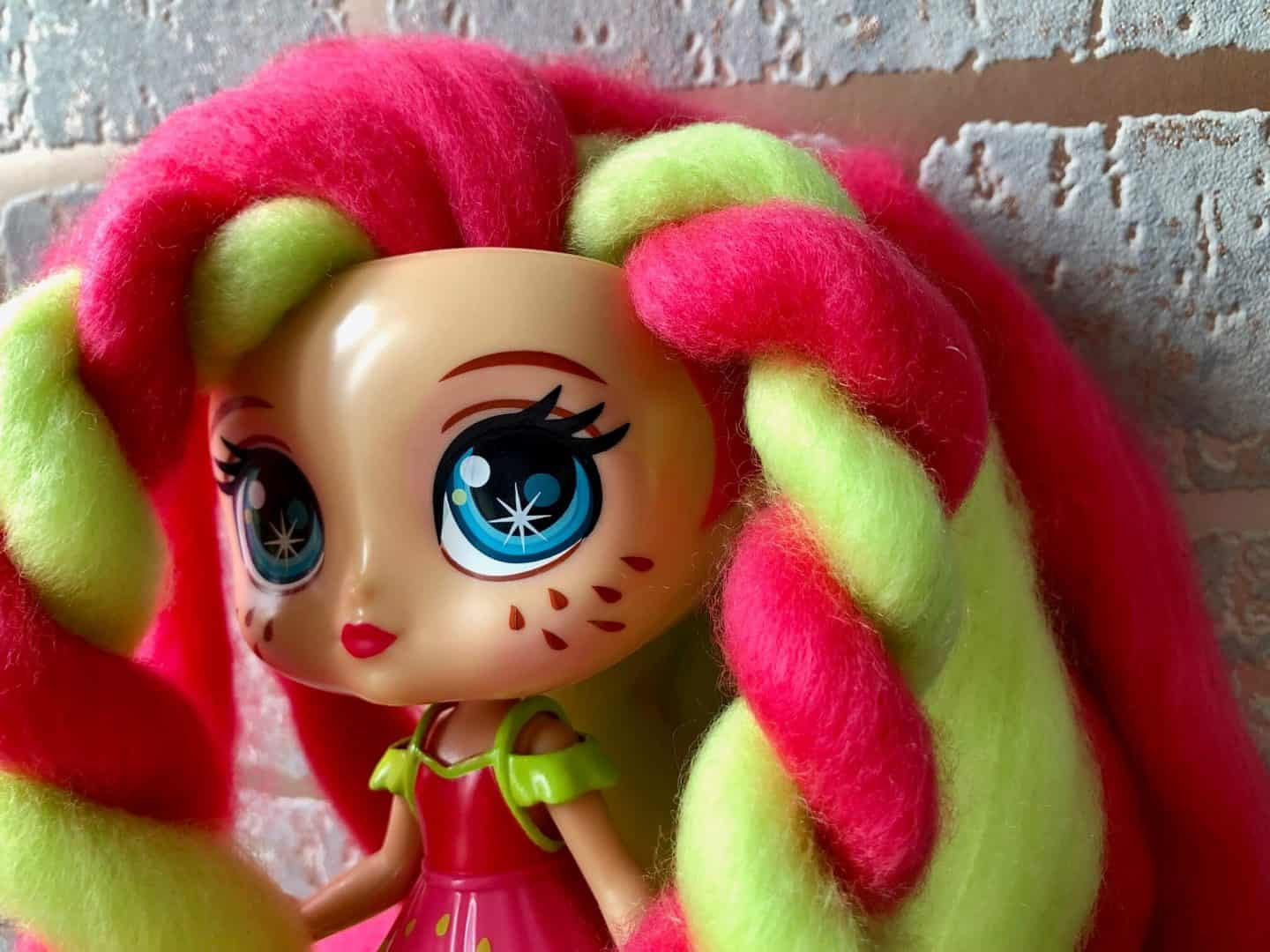 Candylocks Dolls - Straw Mary red and green hair