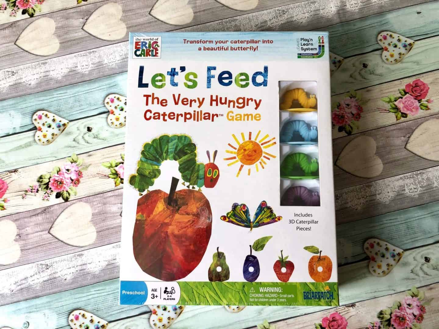 Let's Feed the Very Hungry Caterpillar board game - Review
