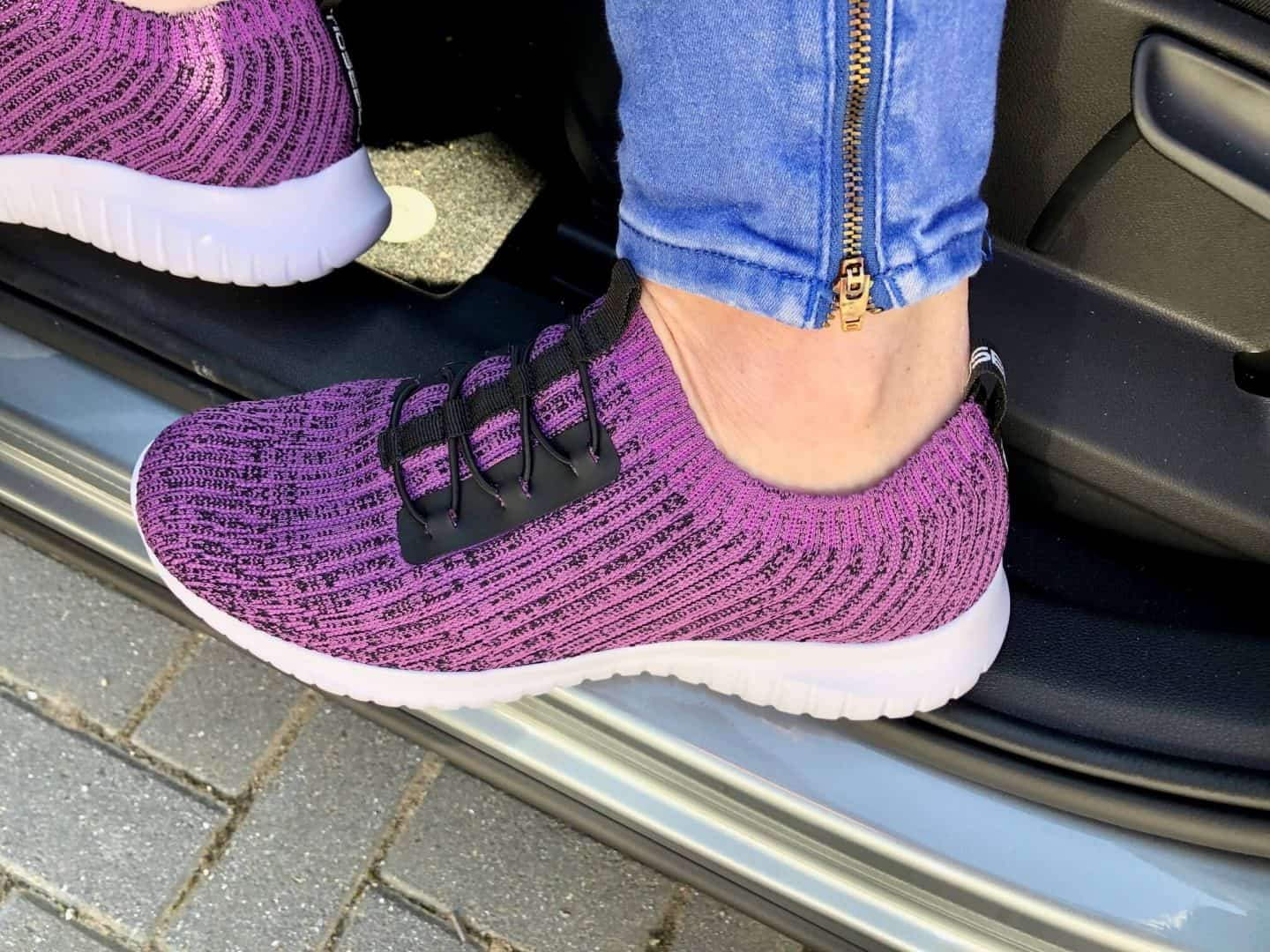 Women's Knitted Trainers