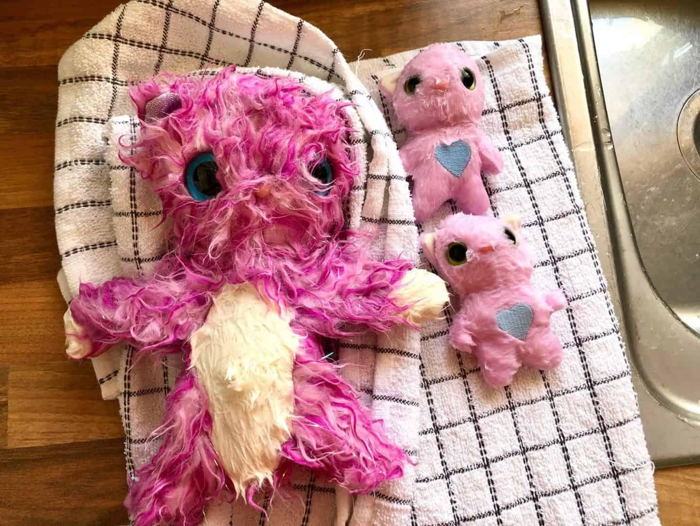 scruff-a-luv mummy with twins