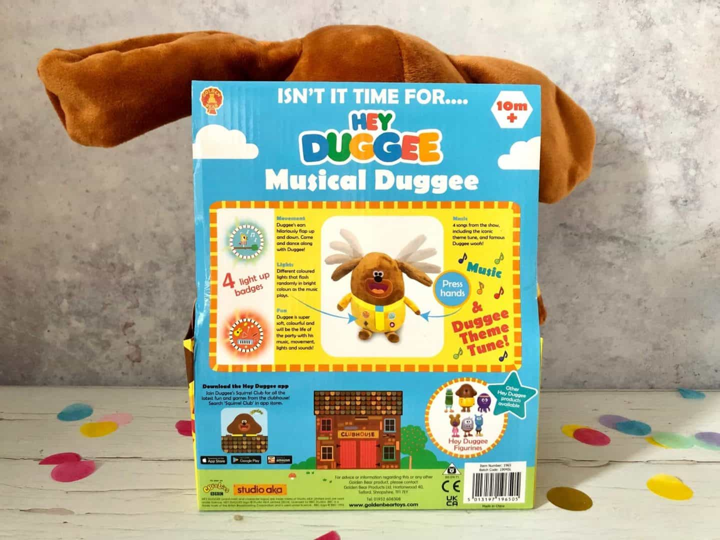 Features Musical Duggee Soft Toy Review