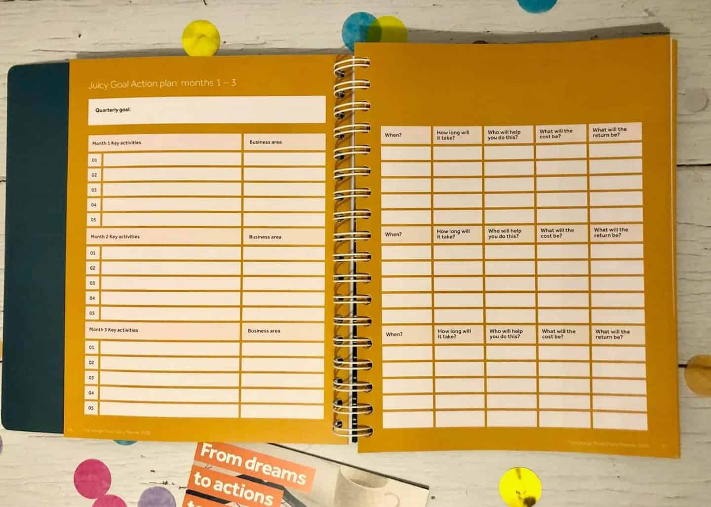 Action Planner - The Diary Planner