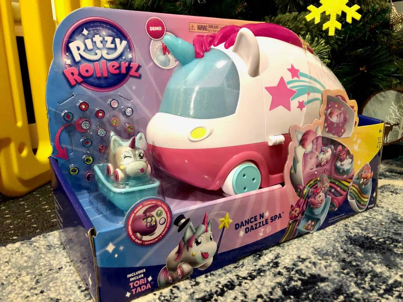 Ritzy Rollerz Dance n Dazzle Spa Playset with Tori Tada