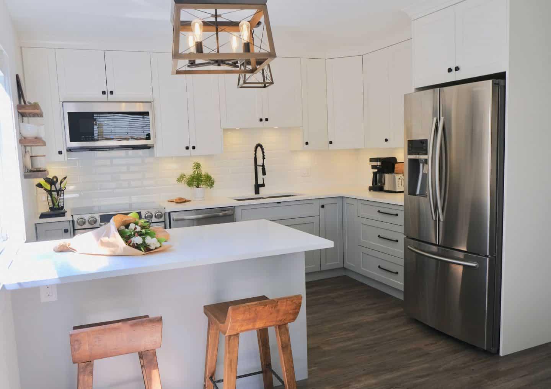 L-Shape Kitchen layout design