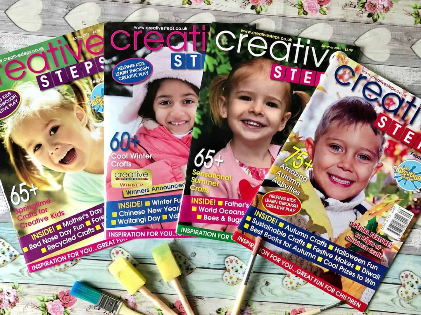 Creative Steps Magazine Review and Giveaway