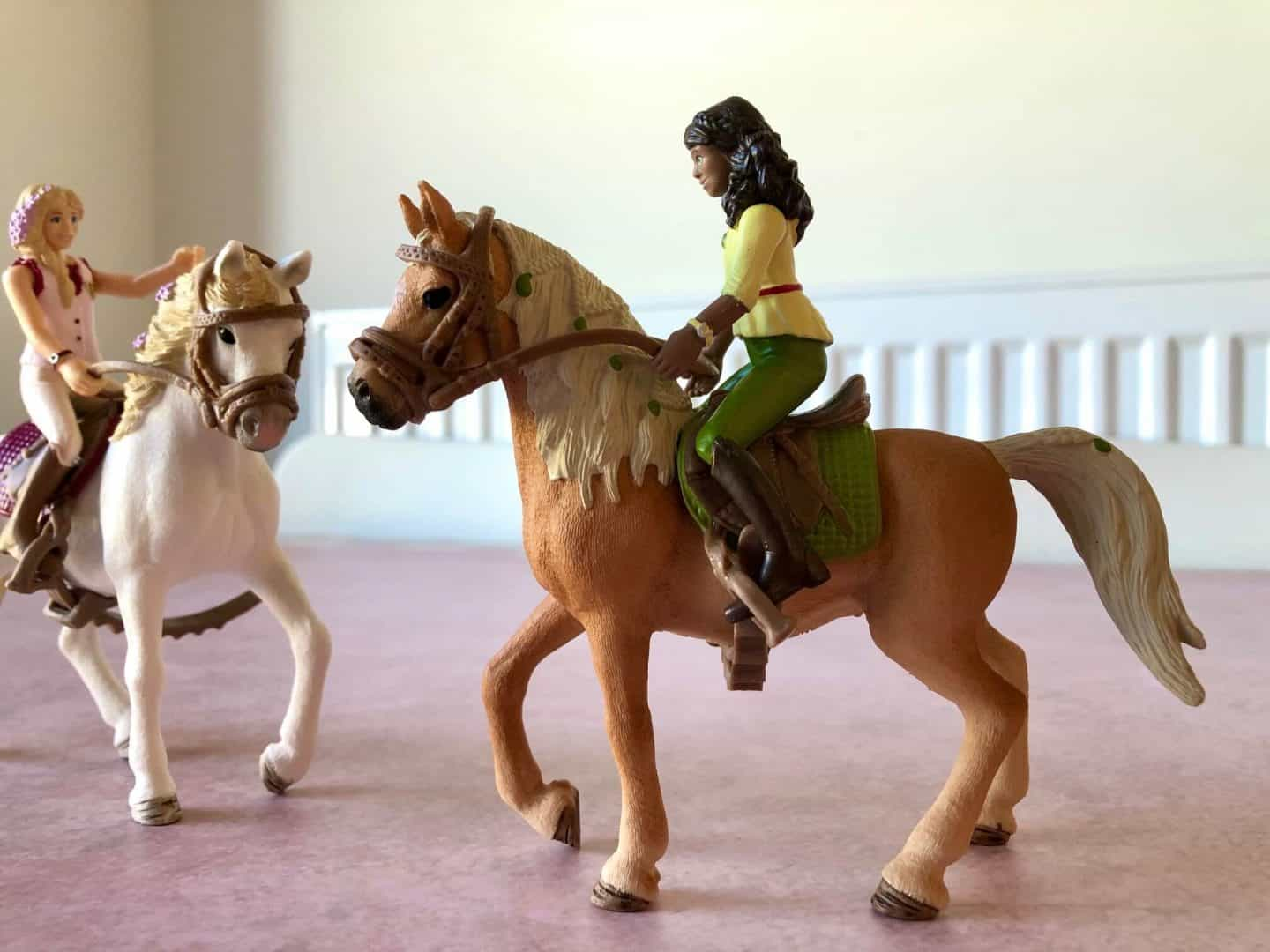 Schleich Horse Club rider Sarah and her Arab mare, Mystery