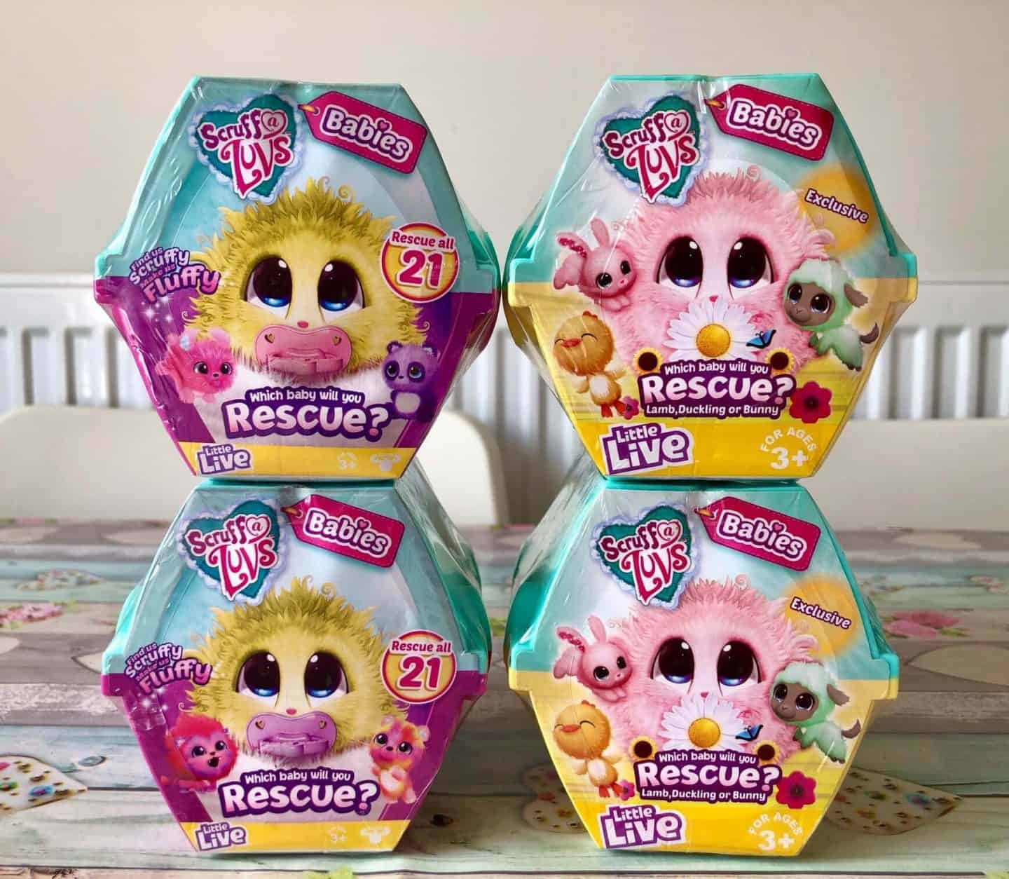 Scruff-a-Luvs Spring Babies and Baby Collectibles