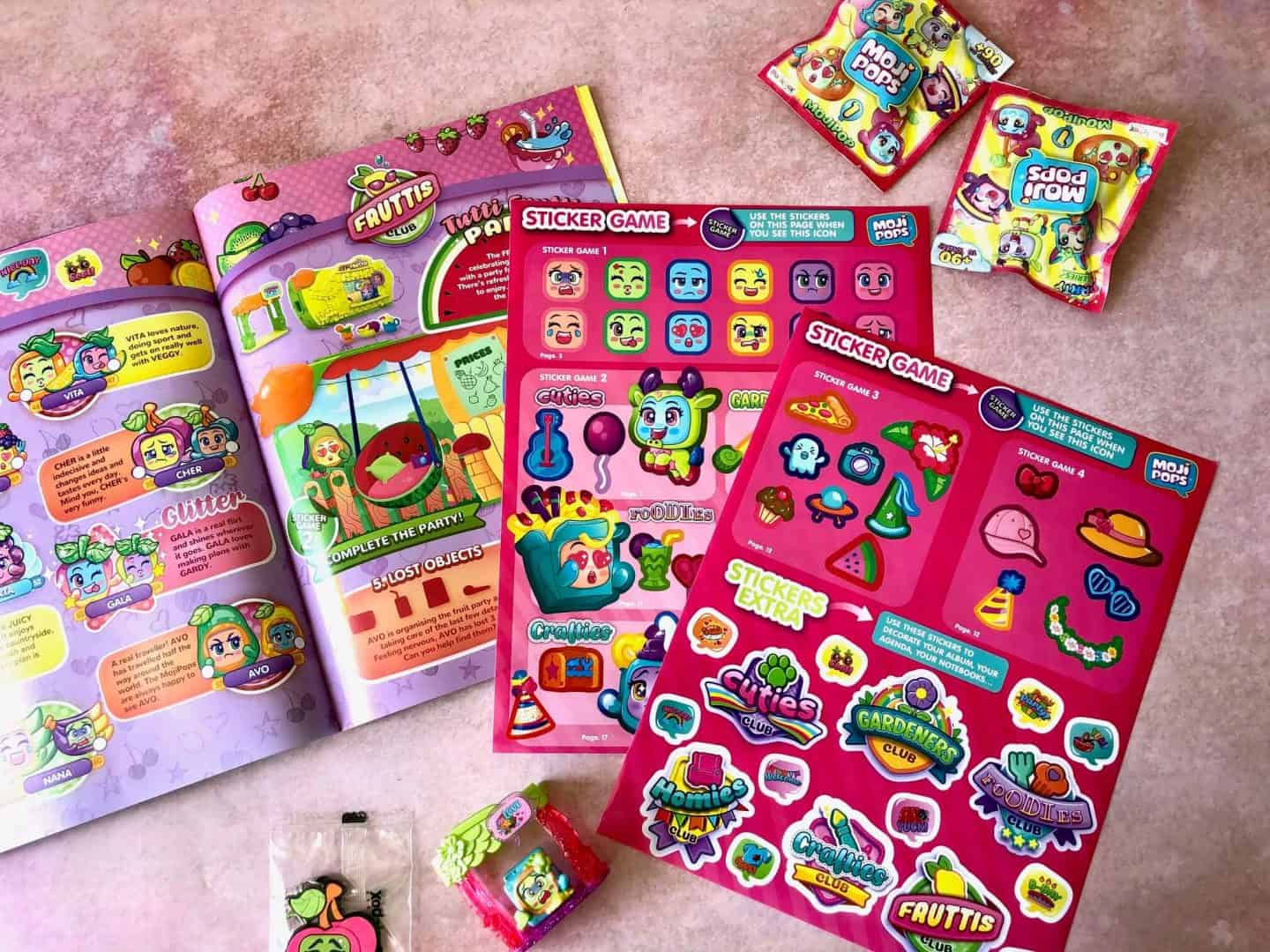 MojiPops Party Starter Set Stickers