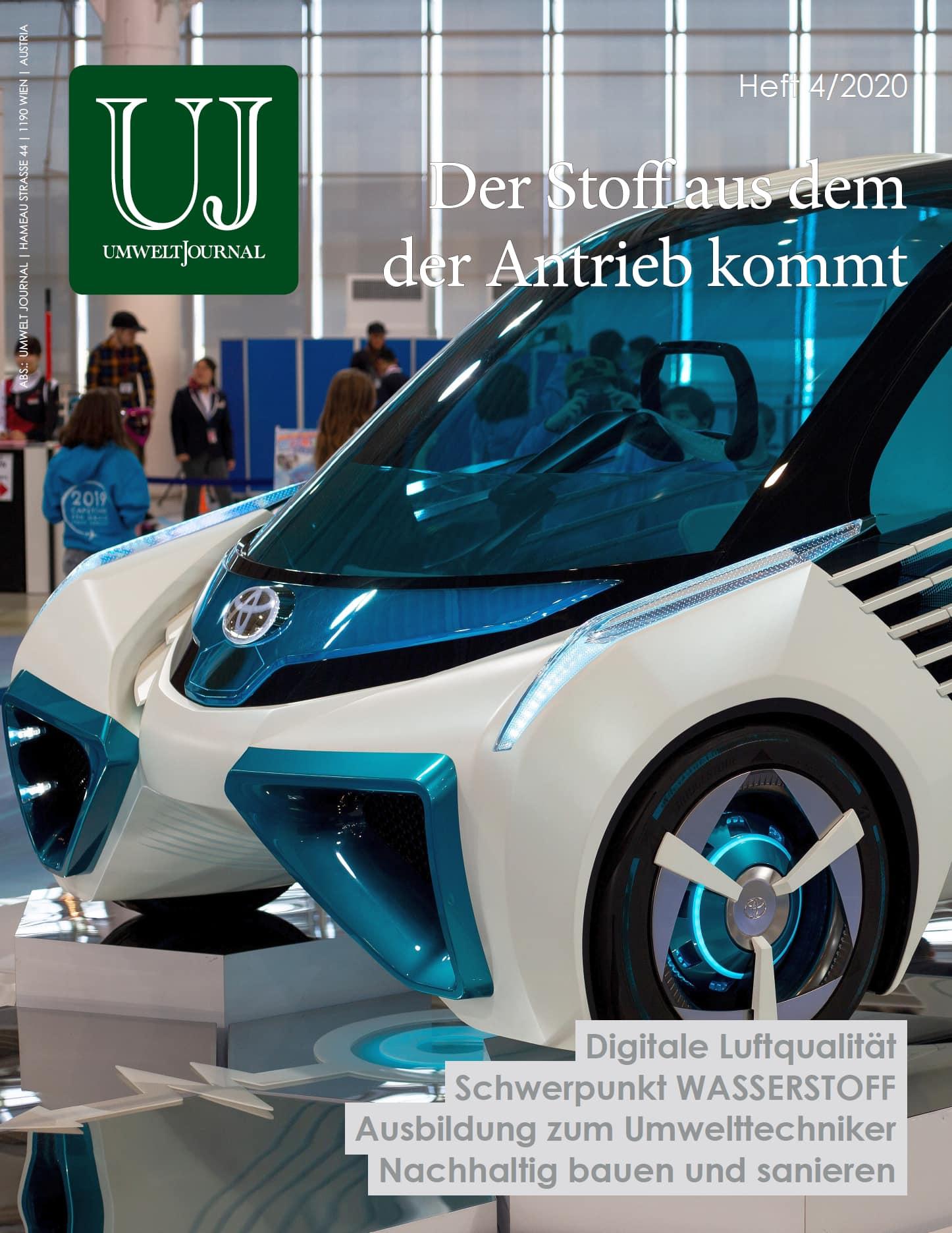 Foto: UMWELT JOURNAL Nr. 4/2020, Cover