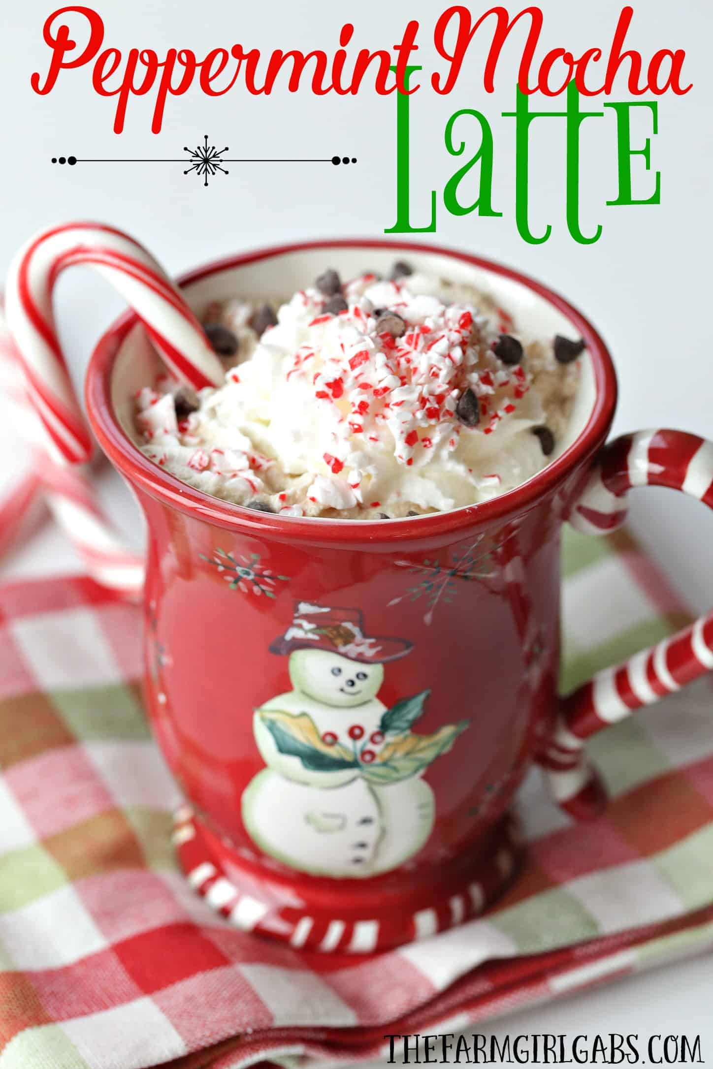 Skip the coffee house and brew your own delicious Peppermint Mocha Latte in a Ninja Coffee Bar® System! #NinjaBarista #Ad #IC