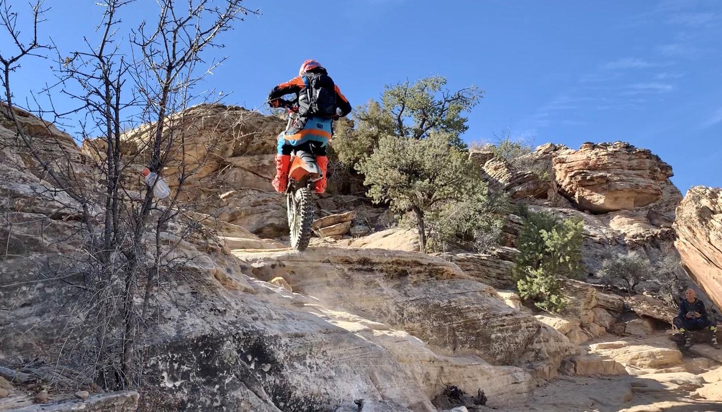 Enduro offroad dirt biking