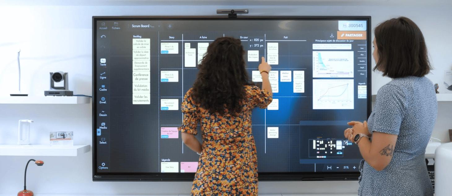 comparatif écran interactif superglass