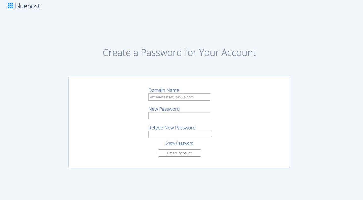 7 Create Password