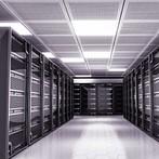 Server racks at datacenter