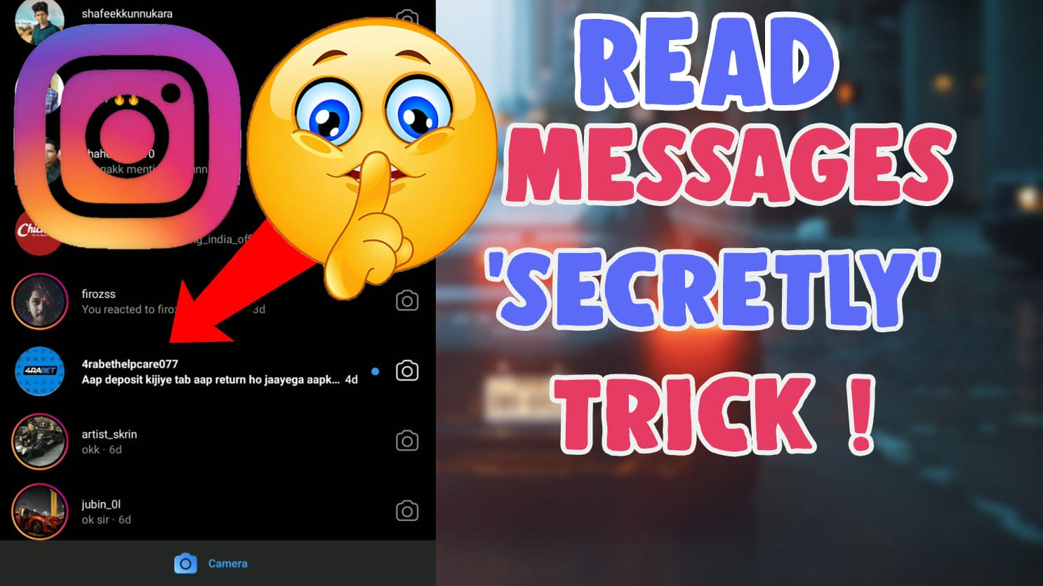 how to read instagram messages without knowing