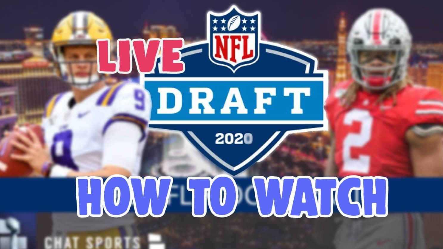 watch nfl draft 2020 live stream free