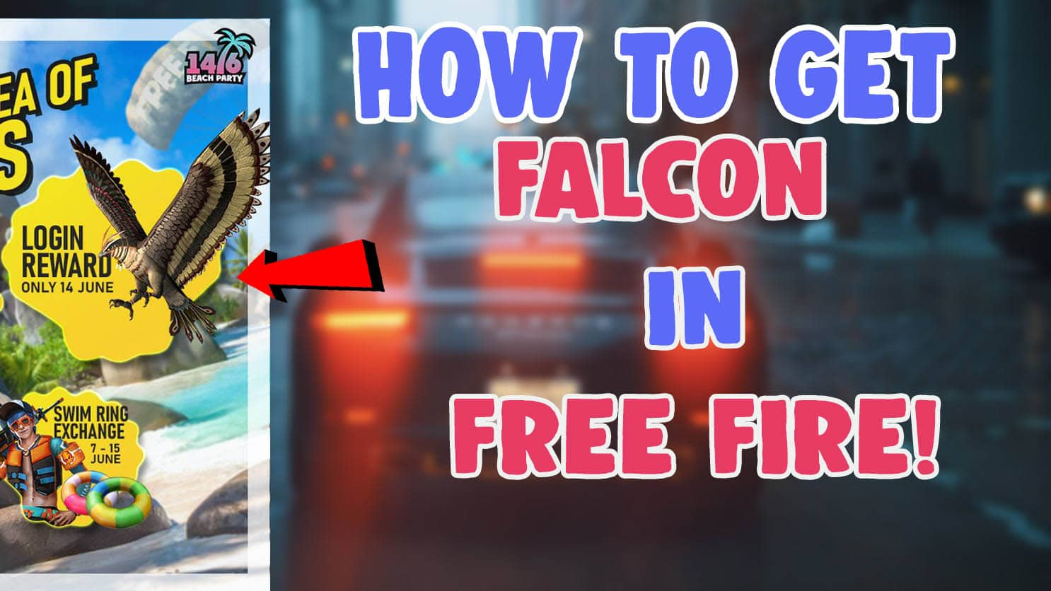how to get falcon in free fire