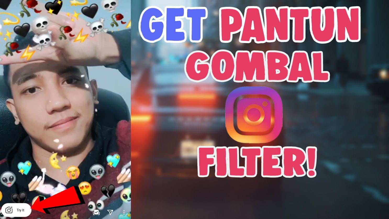 get filter instagram pantun gombal tiktok