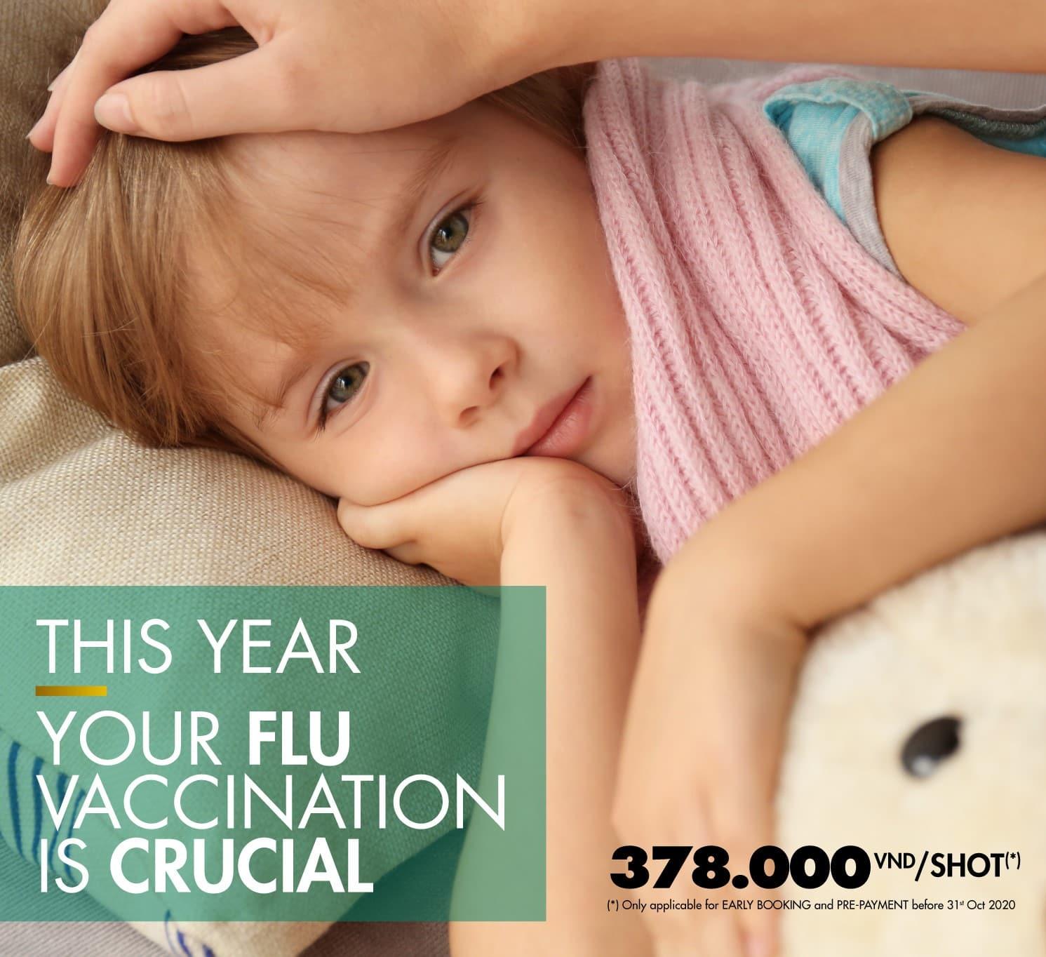 2020-2021年度のインフルエンザワクチン予防接種のお申し込みはお早めに