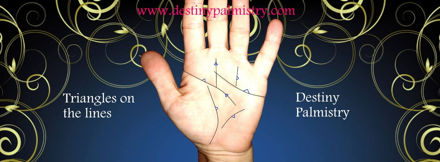 triangle meaning, palmistry