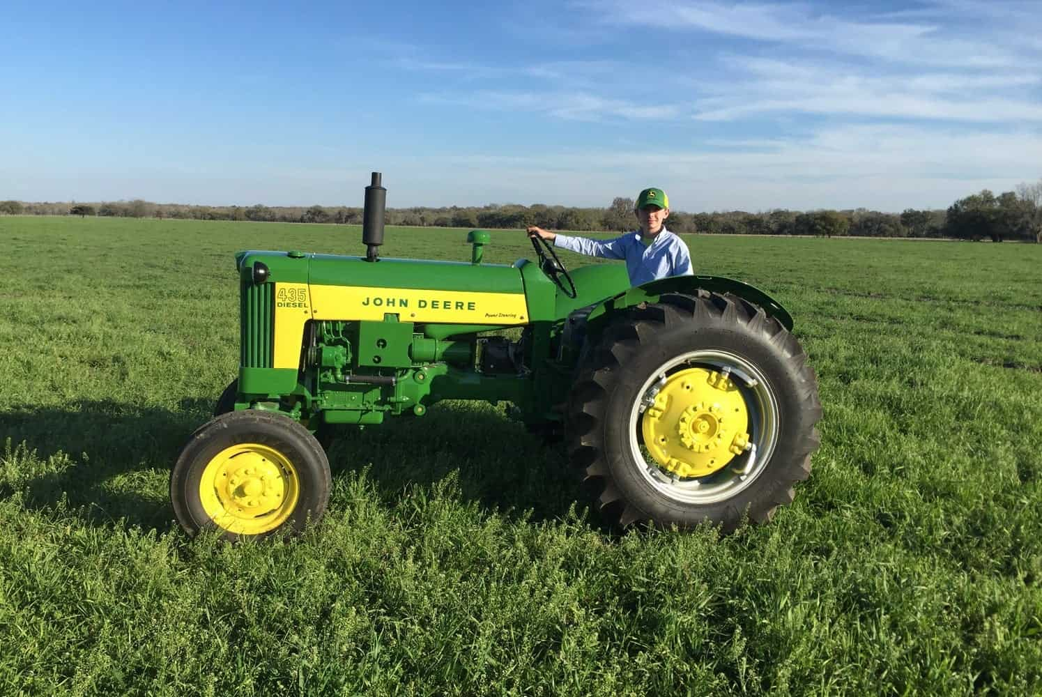 Chevron's Delo Tractor Restoration Competition connects students with opportunity.