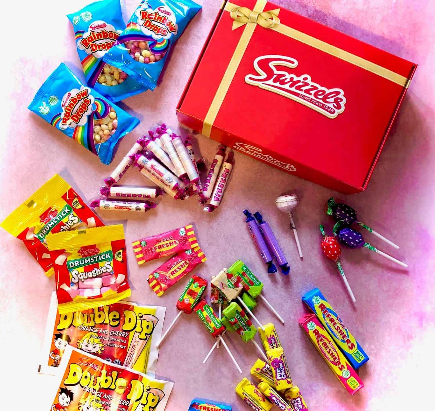 Swizzels Sweet Hamper - Celebrating Valentine's Day