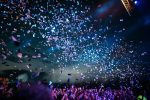 concert, confetti, party