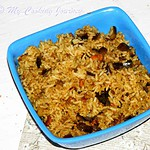 Vaangi Bhaat / Kathirikkai Saadham / Eggplant Rice – Version 2