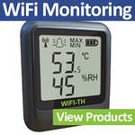 WiFi Temperature Monitoring
