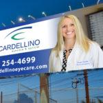 Cardellino Eyecare billboard