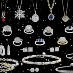 Still from Precious Metals & Diamond Company holiday commercial