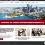Samuel Land Company Website homepage