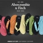 Abercrombie & Fitch Womens Flip Flops 2008