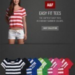 Abercrombie Fitch Easy Fit Tees