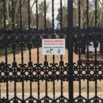 Cerrados por el viento los parques Abelardo Sánchez, Jardinillos y Fiesta del Árbol