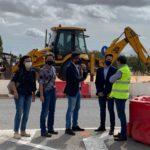 La Junta inicia las obras de la glorieta de la CM-220 en Tarazona de la Mancha