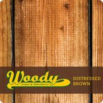 Woody ATM Wrap Distressed Brown