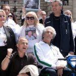 Manifestazione 25 aprile contro indulto e amnistia