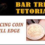 Bar Tricks Coin On Bill