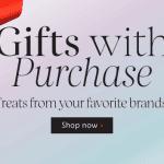 ช้อปออนไลน์ที่ Sephora วันนี้รับของแถมเพียบจาก 8 แบรนด์ดัง