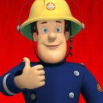 Brandweerman Sam voor kleine kinderen op de iPad.