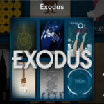 Exodus streamt video op Kodi.