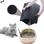 Waterproof Pet Cat Litter Mat Double Layer Cat Litter Trapping Pet Litter Cat Mat Clean Pad Products For Cats Accessories