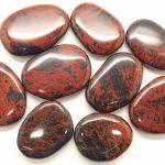piedra de obsidiana roja