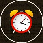 Icon Desk Clock Gifterindo