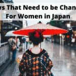 Laws That Need to be Changed For Women in Japan