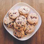 Cookies on plate