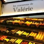 Display of Macarons